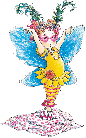 It is a graphic of Divine Fancy Nancy Clipart