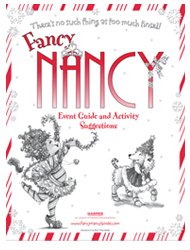 There's no such thing as too much tinsel! Fancy Nancy: Splendiferous Christmas