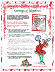 Give back during the holidays with Fancy Nancy. Fancy Nancy: Splendiferous Christmas