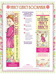 Nancy Clancy Bookmark
