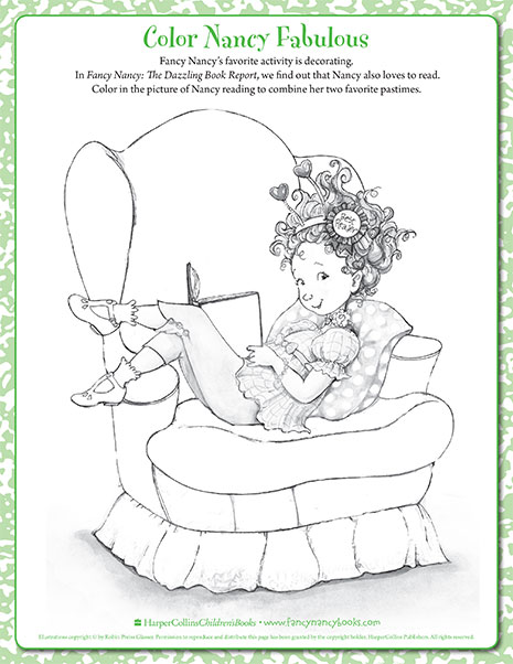 bookworm printable coloring sheet