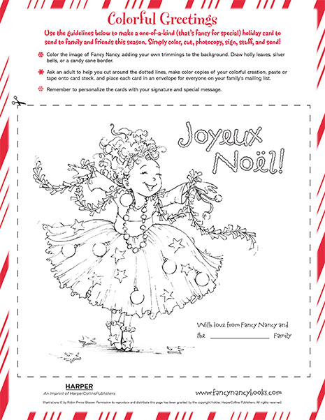 Fancy Nancy Printable Activities FancyNancyWorldcom