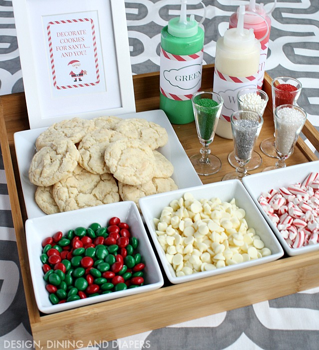 Christmas Cookie Decorating Station For Kids Or Adults