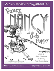 Fancy parties are always well planned! Fancy Nancy and the Posh Puppy