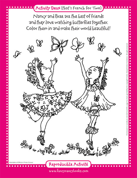 Color your world printable coloring sheet